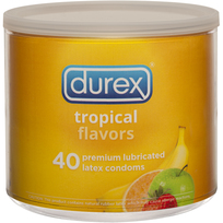 Durex Loose Flavor condoms 40/jar