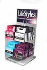 Lifestyle Assorted 32 Condom Counter Dspl