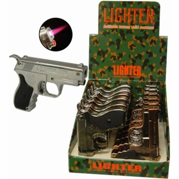 Gun Lighter w/led light