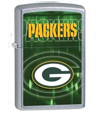 NFL, Packers, Chrome Lighter
