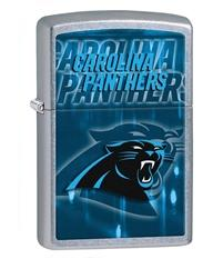 NFL, Panthers, Chrome Lighter
