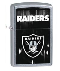 NFL, Raiders, Chrome Lighter