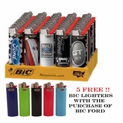 Bic Ford Lighter+5 Free Deal