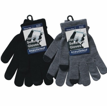Men text Gloves 12bx