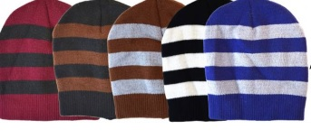 Winter Stripe Hat 12bx