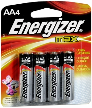 AA-4 Pack Energizer Batteries