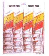 Safety Pins 24/crd
