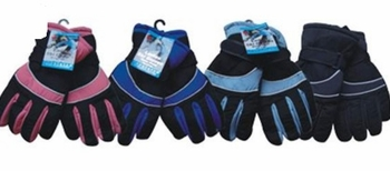 Women Ski Gloves 12/bx