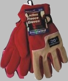 Women Fleece Gloves Heavy Duty