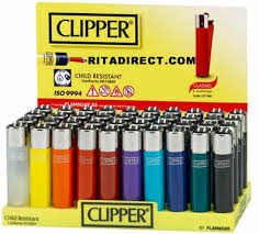 Clipper Round Lighters