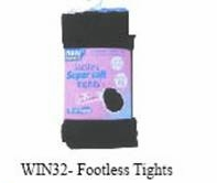 Footless Tights one size (1dz)