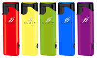 Slant Sport Rubberized Lighter