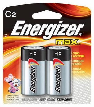 C-2 Pack Energizer Batteries