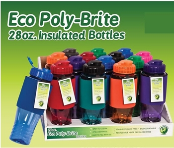 Eco Poly Insulated Travel Bottle 14/bx