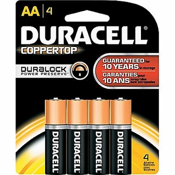 AA 4-Pack Duracell