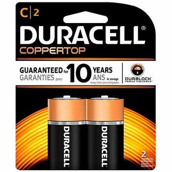 C 2-Pack Duracell