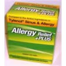 Prime Aid Allergy Sinus (tylenol Allergy)50/box
