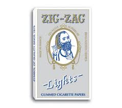 Zig Zag Cigarette paperWhite Lights 24/bx