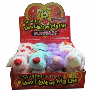 Singing Puppies 12 /box