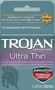 Trojan Ultra Thin Spermicidal12 Box
