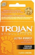 Trojan Ultra Ribbed 12/box