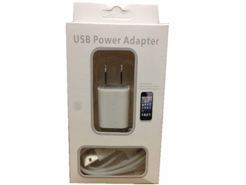 Iphone 4 Wall Charging Set6/bx