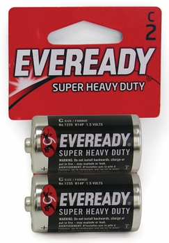 C 2-Pack Eveready Batteries