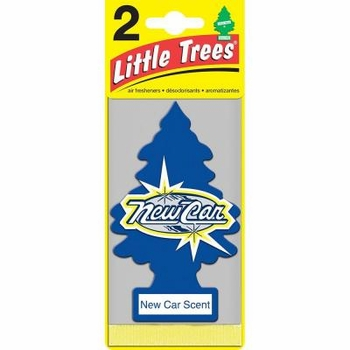 Little Tree Air Freshener 2pk12/box New Car