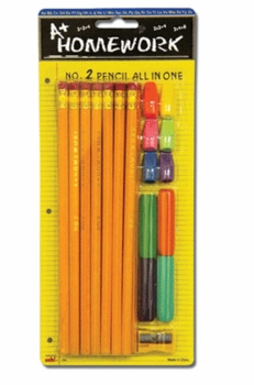N0.2 Pencil All In One 12/box
