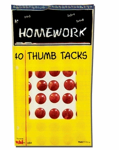 40 Thumb Tacks 12/box