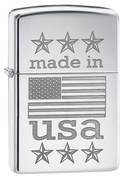 Zippo Made In USA Lighter (Retail $29.95)