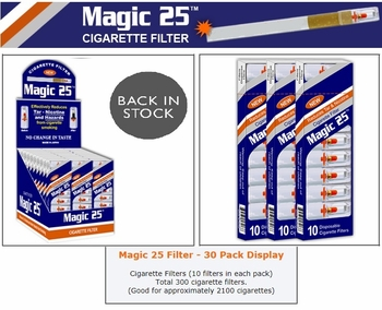 Magic Filters 30/Box10pc In Each