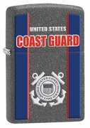 Zippo Coast Guard Lighter - Iron Stone Finish