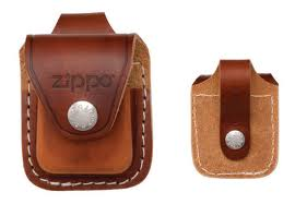 Zippo Loop Brown Pouch