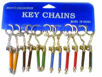 Color Pipe Keychain12 card