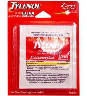 Single Pk Ref Tylenol Ex 24/bx