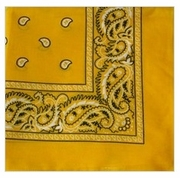Yellow Square Bandanas