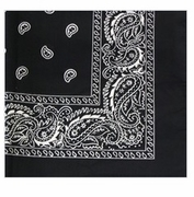 Black Square Bandanna