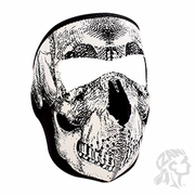 Neoprene Mask Skull