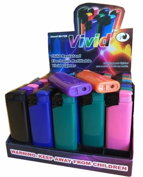 Vivid Electric Lighters
