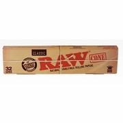 Raw King 12 pks of 32 cones in each