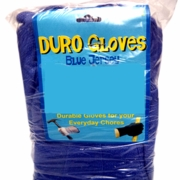 "Blue ""Economy"" Jersey Gloves12pk"
