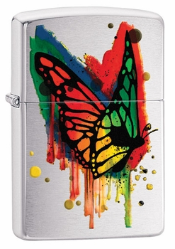 Zippo Color Butterfly