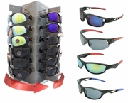 Racer 36ct Sunglass w/Spinnig Display