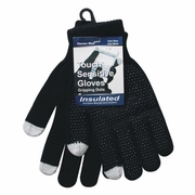 Winter Text Dots Gloves