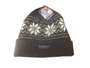 Winter Men Hat Snowflakes 12bx