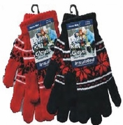 Women Snowflake Gloves12 Box