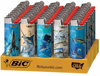 Bic Guy Harvey Shark Lighters