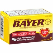 Bayer Aspirin 24/ct Bottles