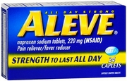 Aleve Tablets Bottles 24'ct